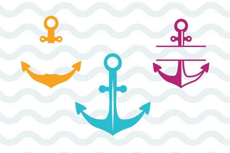 Download Anchor svg free, anchor monogram svg free, instant ...