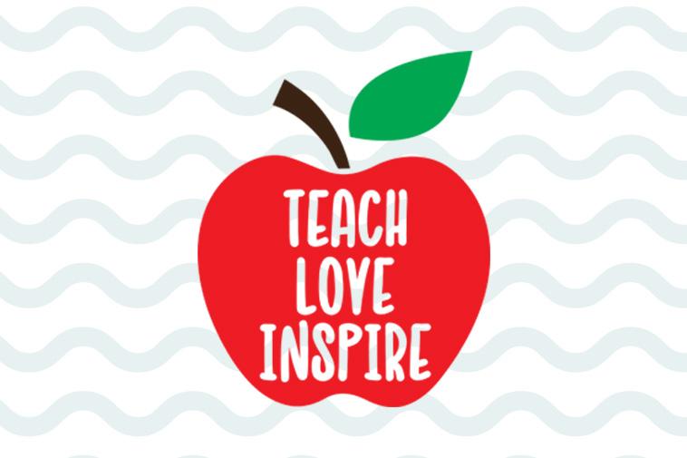 Download Teach love inspire svg free, teacher svg, teacher life svg ...