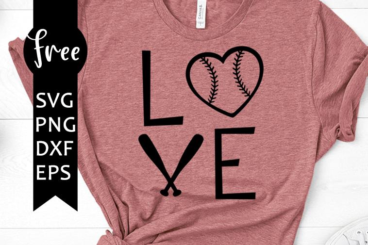 Download Love baseball free svg, sport svg, baseball heart svg ...