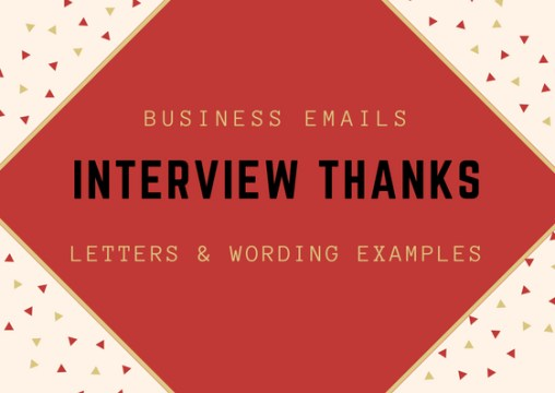 Interview Thank You letter   boost your chances of landing the job  Interview Thank You Note Example