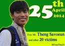 Theng Savoeun, Secretari Coodintor of CCFC