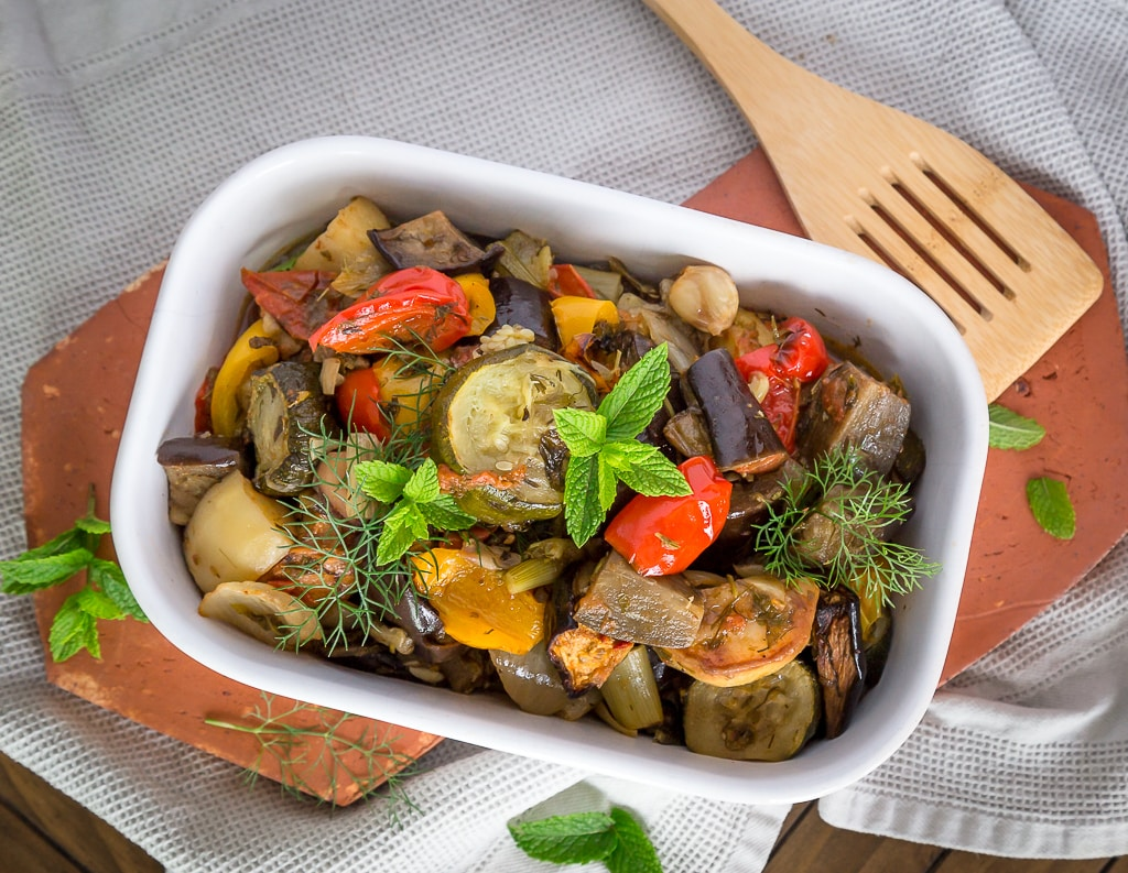 Briam de légumes