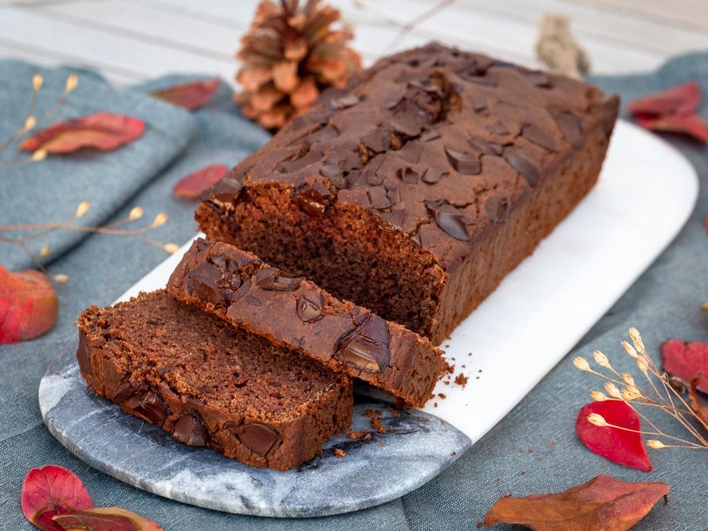 Cake Choco-Châtaigne (Végan et Sans Gluten)