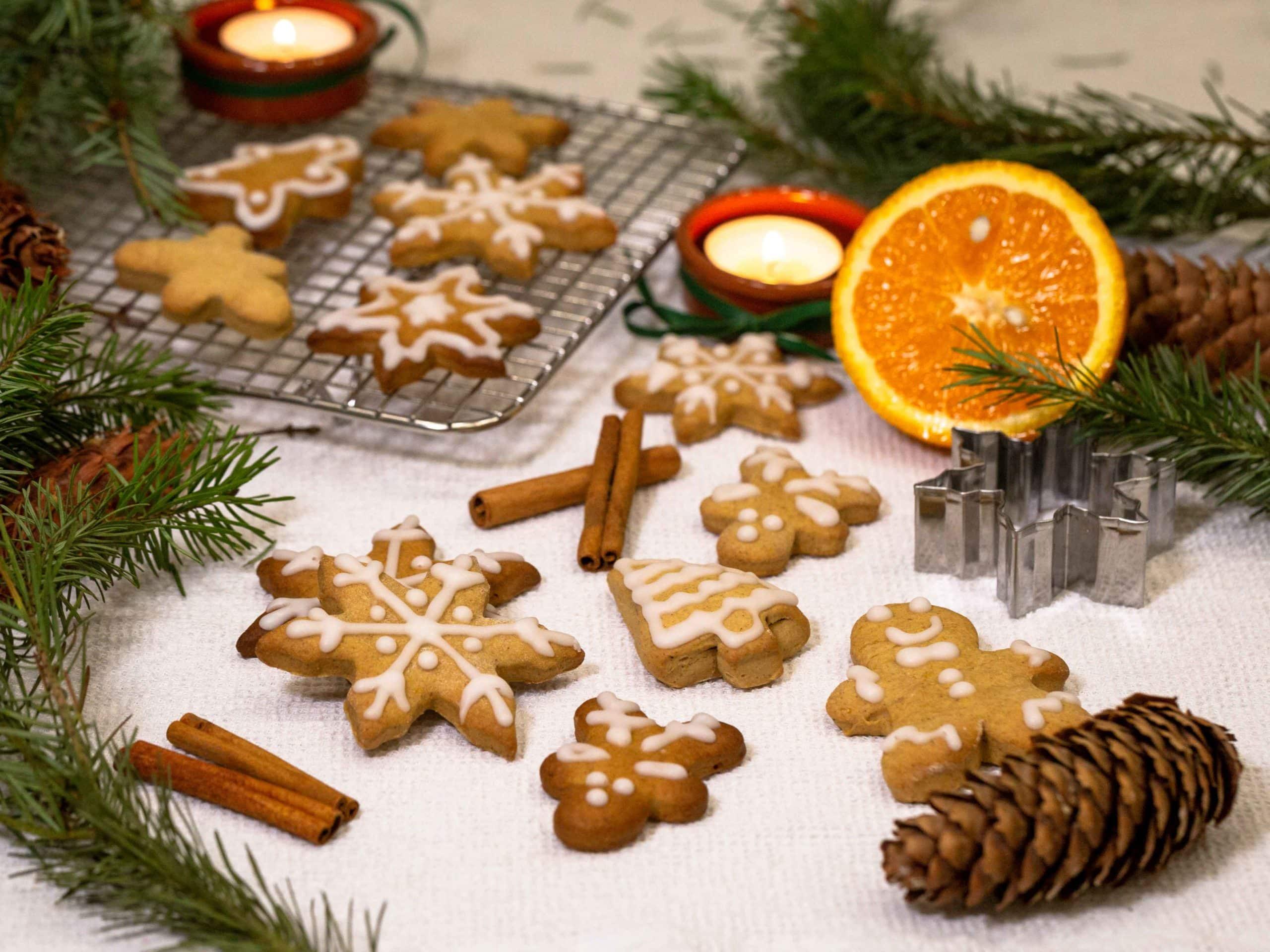 Biscuits de Noël Vegan