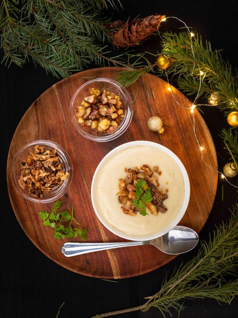 20 idées pour réaliser un repas de Noël entièrement végétarien ou vegan !
