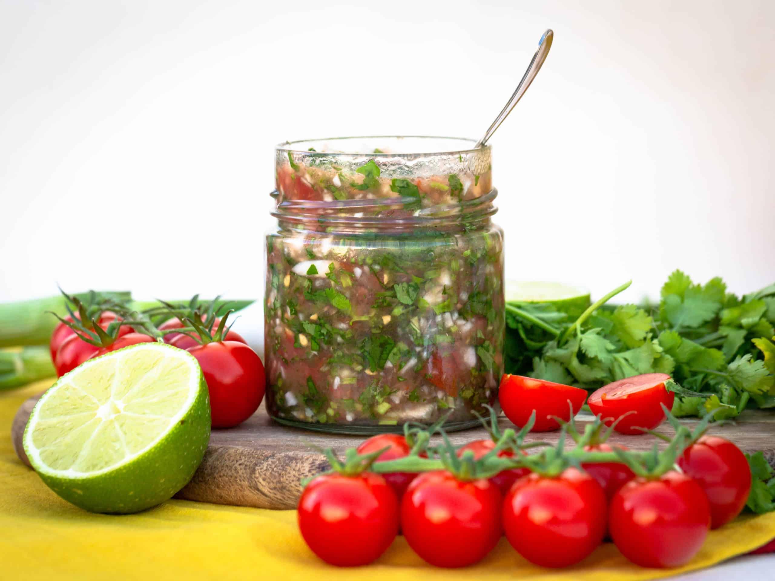 Aji à la Colombienne (Condiment Végan et Sans Gluten)