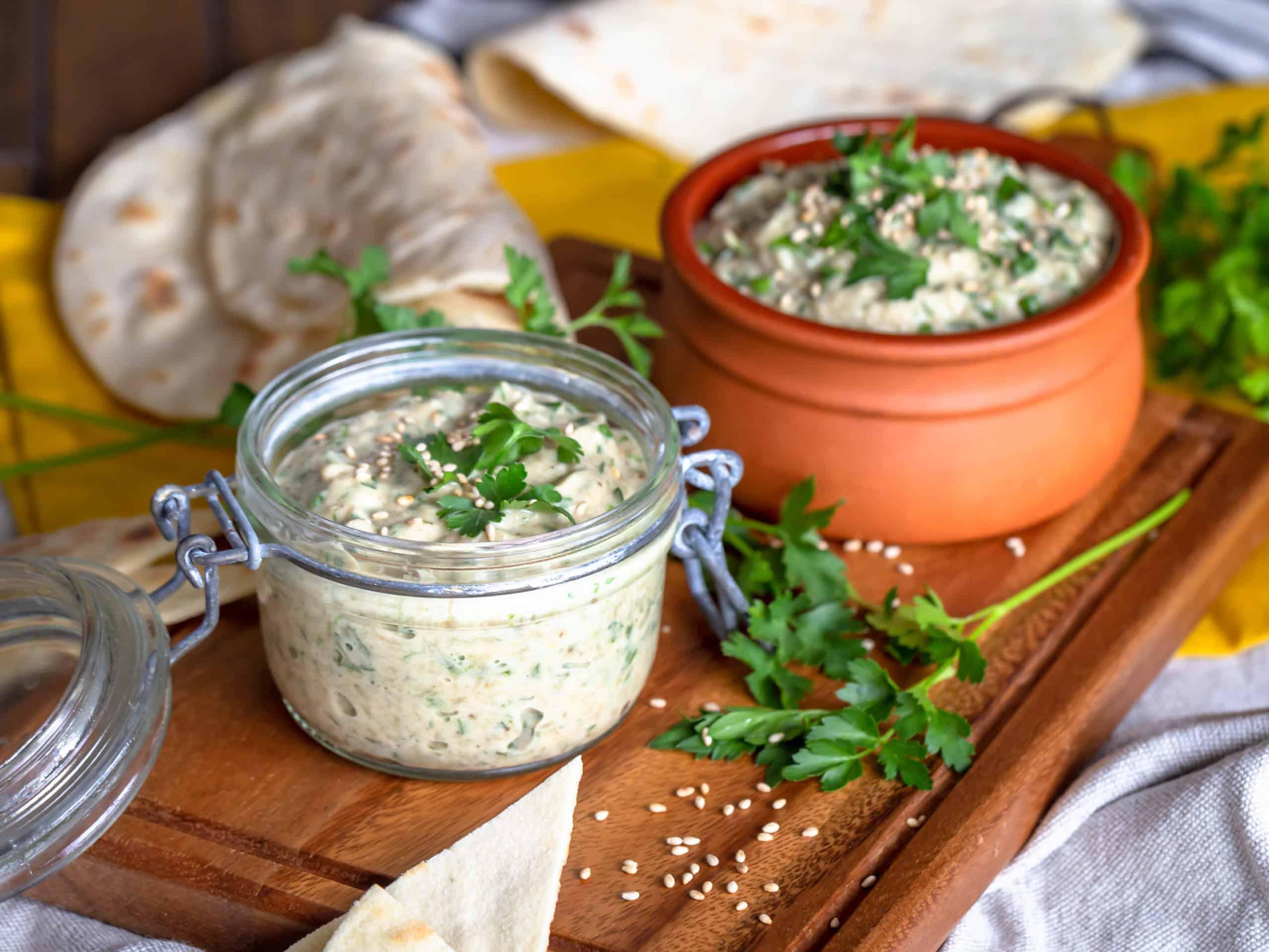 Caviar d'Aubergine à l'égyptienne (vegan et sans gluten)
