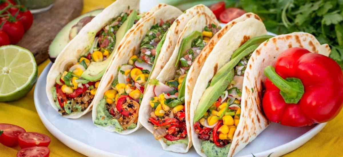 Tacos Végétaliens au Quinoa et Maïs (Sans Gluten)