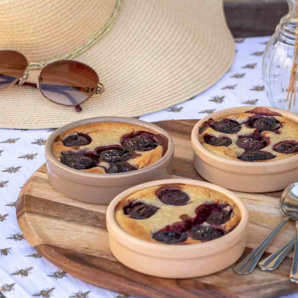 Une recette de clafoutis végétalien à la cerise ! Recette de dessert sucré sans œufs Végétalien / végétarien
