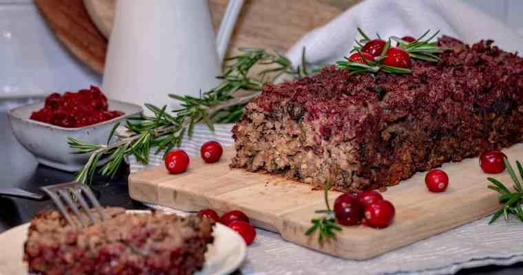 Rôti aux Cèpes (Vegan et Sans Gluten)