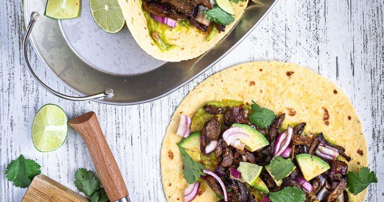 Tacos aux Pleurotes façon carnitas