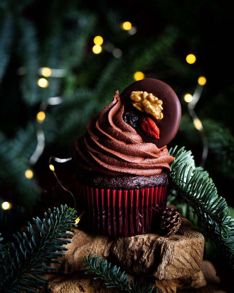 Cupcakes Vegan Chocolat Noisette