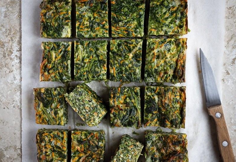 Quiche légère Epinards et Carottes (recette végétarienne express)