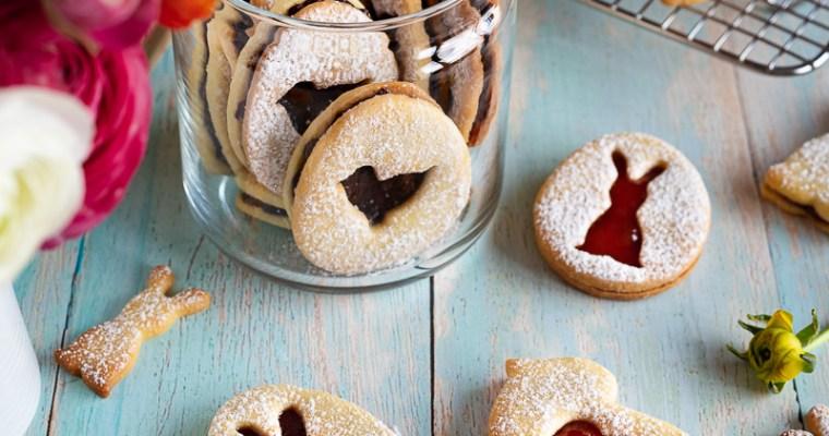 Sablés fourrés Chocolat croustillant / Confiture