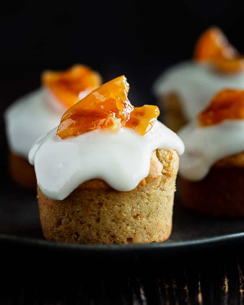 Muffins à l'Orange Vegan