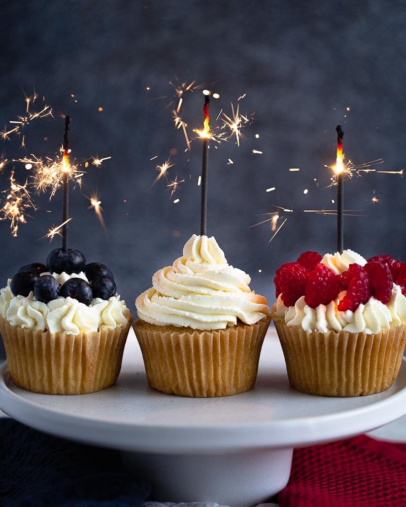 Cupcakes Vanille Vegan