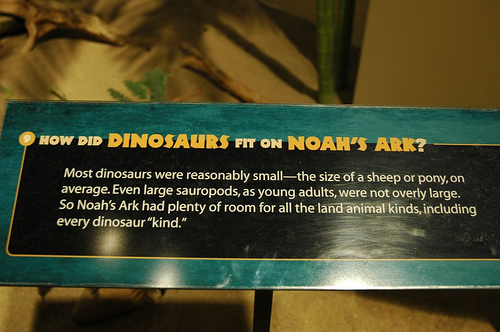 Did Dinosaurs Fit In Noah's Ark?
