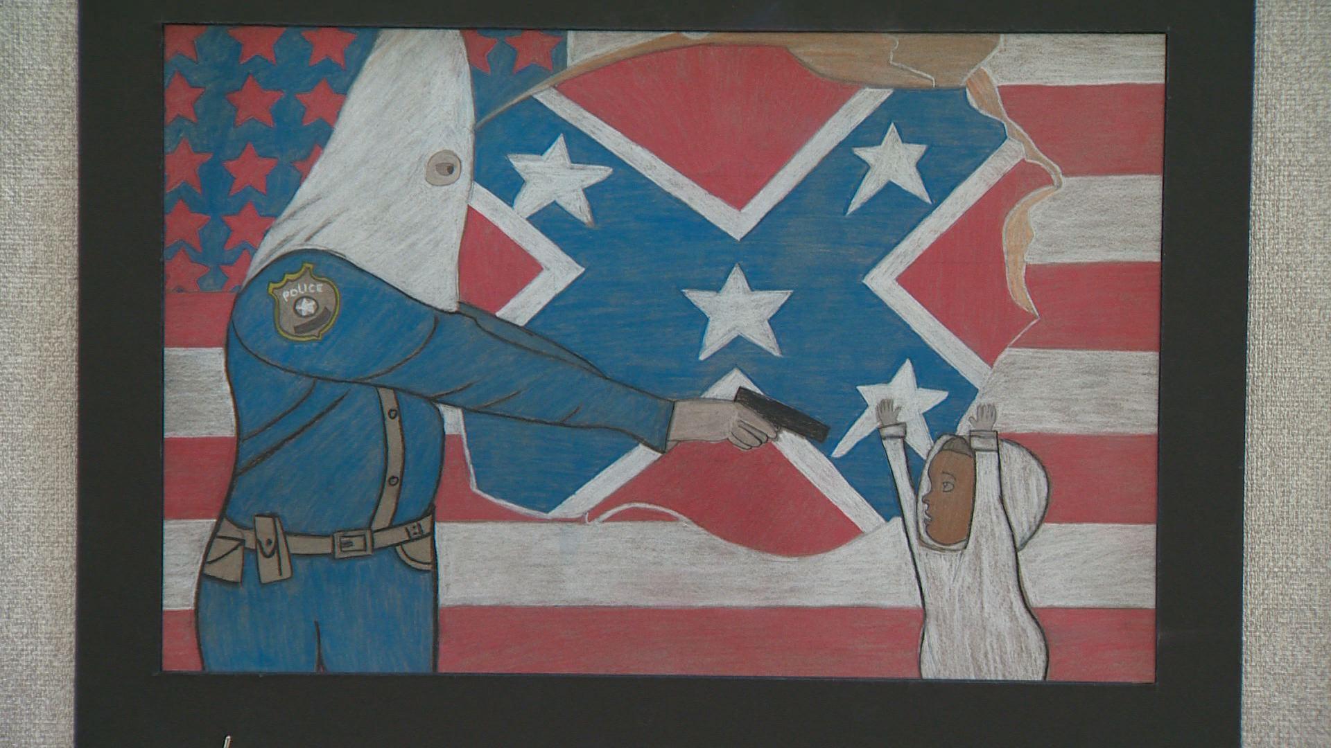 Denver Student's Art Work, withdrawn