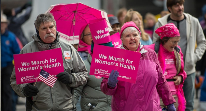 Supporters of Planned Parenthood (EPG_EuroPhotoGraphics / Shutterstock.com)
