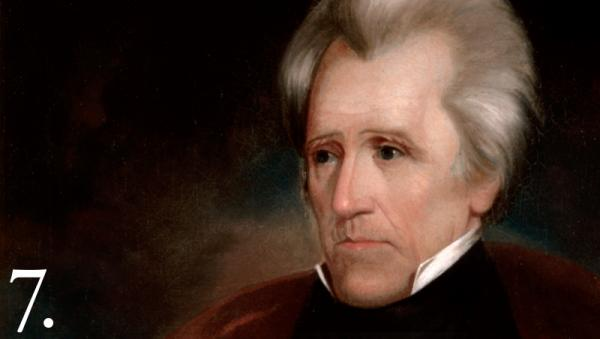 "Courtesy Whitehouse.gov Andrew Jackson took office in 1829 with one goal set firmly in his mind: Indians must be moved ""beyond the great river Mississippi."""