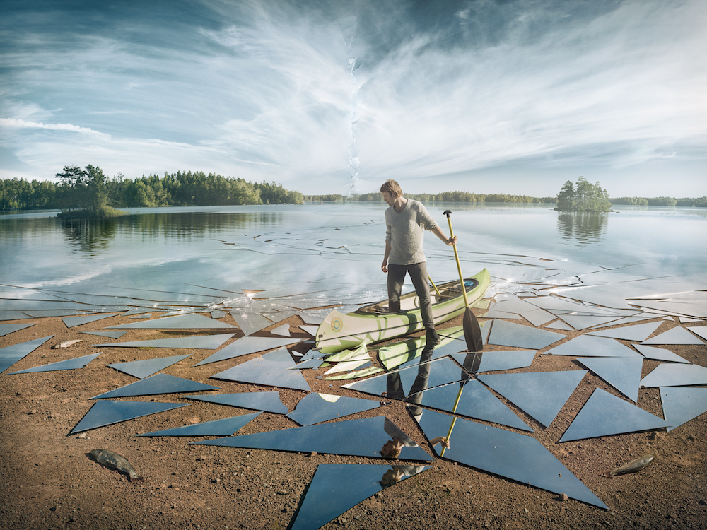"""Impact"" by Erik Johansson, image provided by artist."