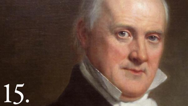James Buchanan took office in 1857, and viewed Indians as collateral damage. Whitehouse.gov