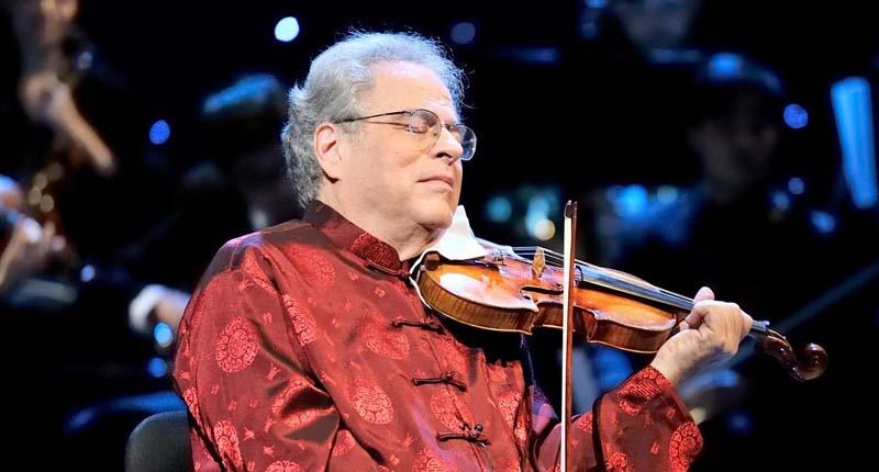 Violinist Itzhak Perlman - Facebook