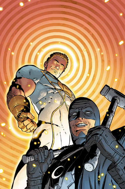 The cover of Midnighter & Apollo No. 1, which will go on sale in October. Credit CD Comics