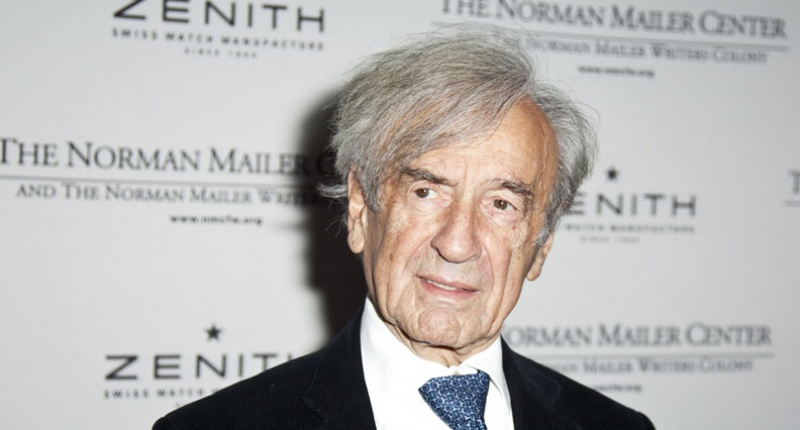 Elie Wiesel, Nobel Peace Prize laureate and renowned Holocaust survivor -- Shutterstock