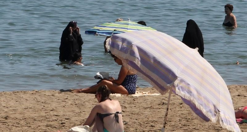 The French beach ban on Islamic garb has caused controversy over women's rights and secularism and confusion over what constitutes a burkini (AFP Photo/Raymond Roig).