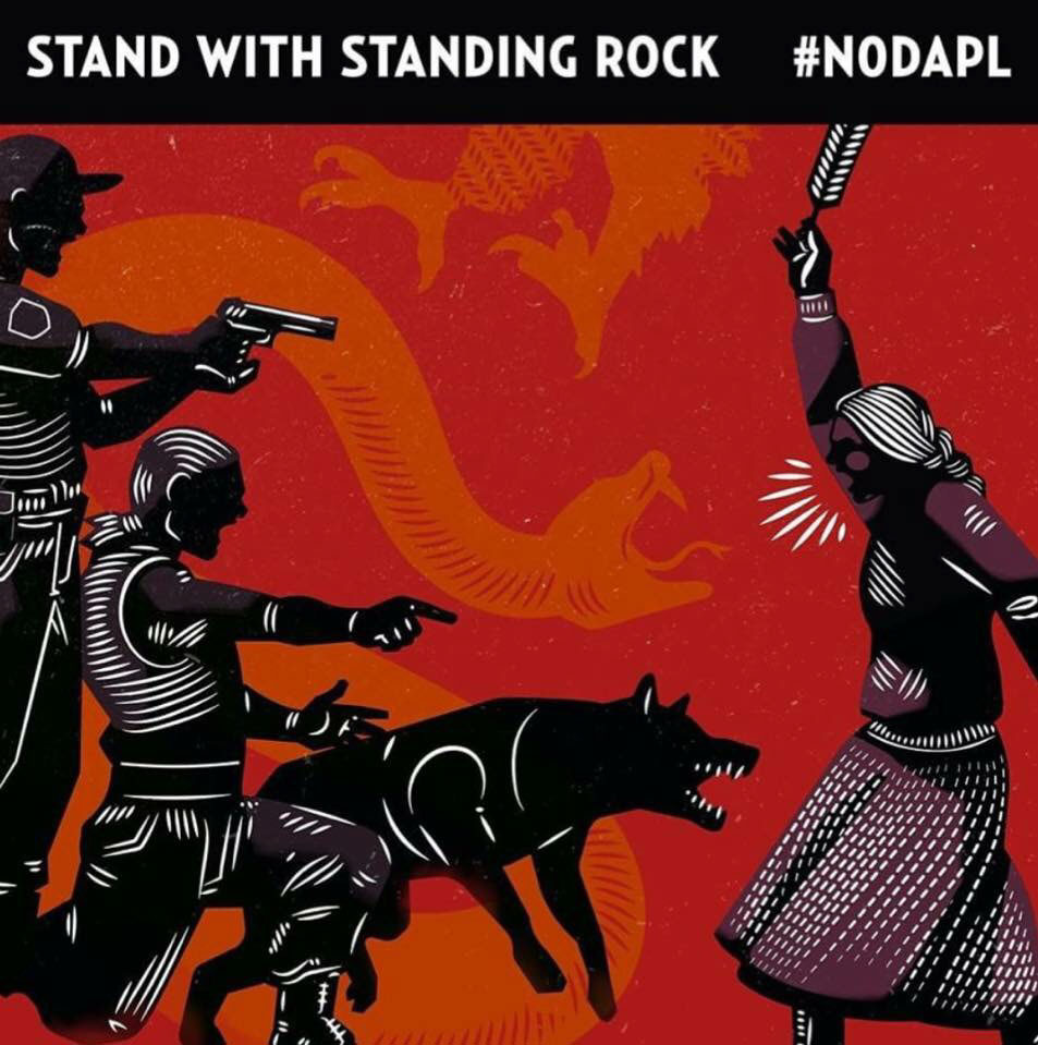 Stand with Standing Rock #No DAPL