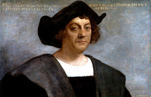 Christopher Columbus. Sebastiano del Piombo/Metropolitan Museum of Art/Wikipedia.