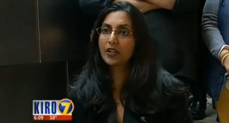 Seattle City Council member Kshama Sawant [KIRO-TV]