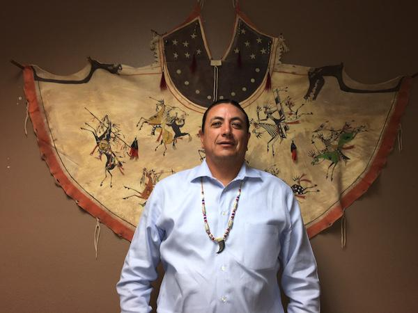 Standing Rock Sioux Tribal Chairman David Archambault II. Courtesy Standing Rock Sioux Tribe.
