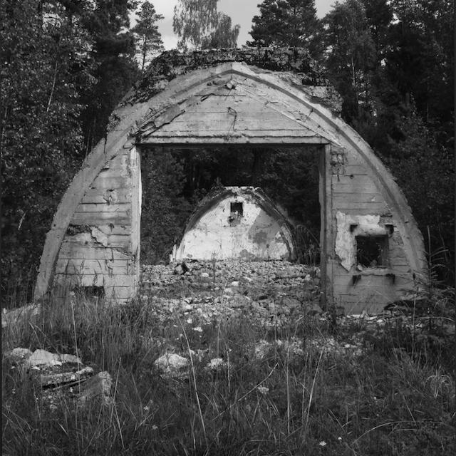 An abandoned Soviet missile base.