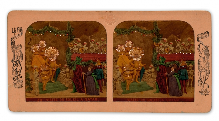 From a group of 11 tissue-stereo views of Satan (1860s–70s) (all images courtesy Swann tiontion Galleries).