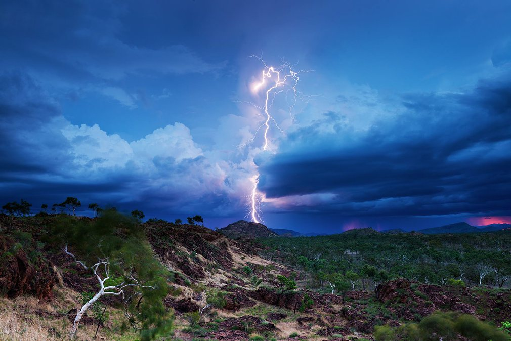A shot from the Kimberley in Western Australia at twilight. Photograph: Jacci Ingham.