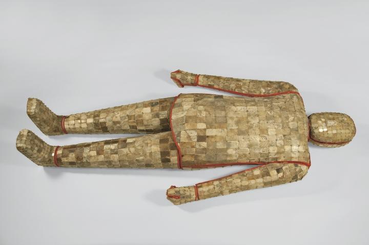 Jade suit, unearthed from Tomb 2, Dayun Mountain, Xuyi, Jiangsu (2nd century BCE) (photo © Nanjing Museum).