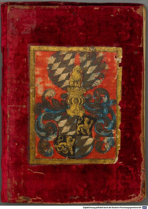 The cover of Bellicorum instrumentorum liber.