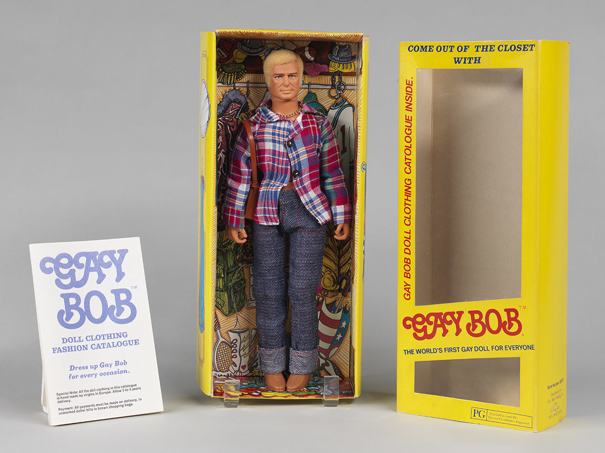 The Gay Bob doll in all his glory. Harvey Rosenberg/Gizmo/Museum of the City of New York/93.83.A-J