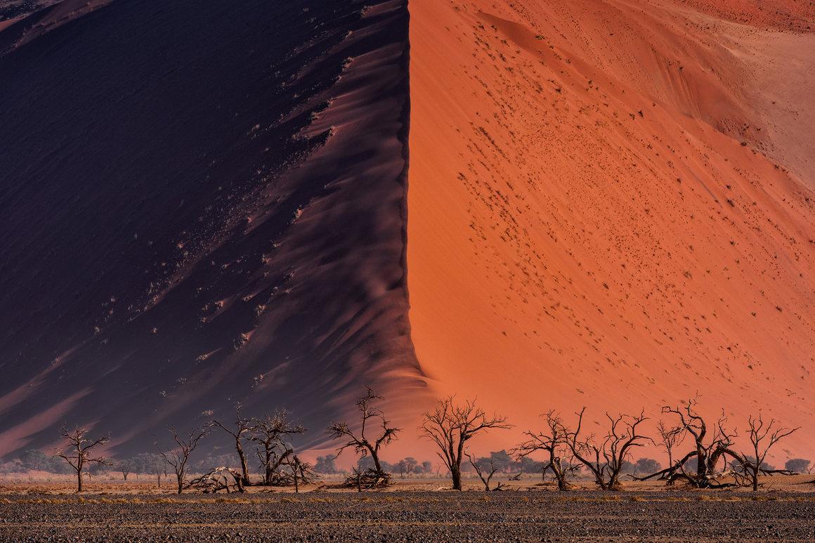 The Great wall of Namib. © Paranyu Pithayarungsarit, Thailand, Shortlist, Open, Landscape & Nature (2018 Open competition), 2018 Sony World Photography Awards.