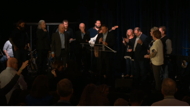Dutch Sheets speaks at his Turnaround: Appeal to Heaven event at the Trump International Hotel in February 2018. (Screenshot via livestream).