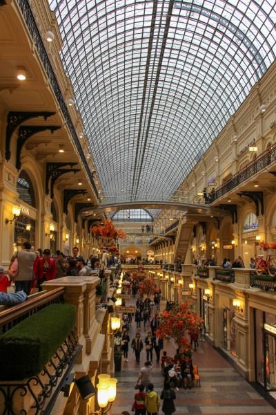 Interior, GUM department store