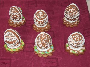 Gingerbread Eggs