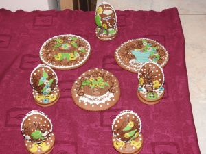 Gingerbread Eggs
