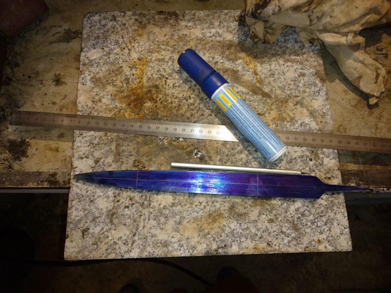 ground basic blade outline
