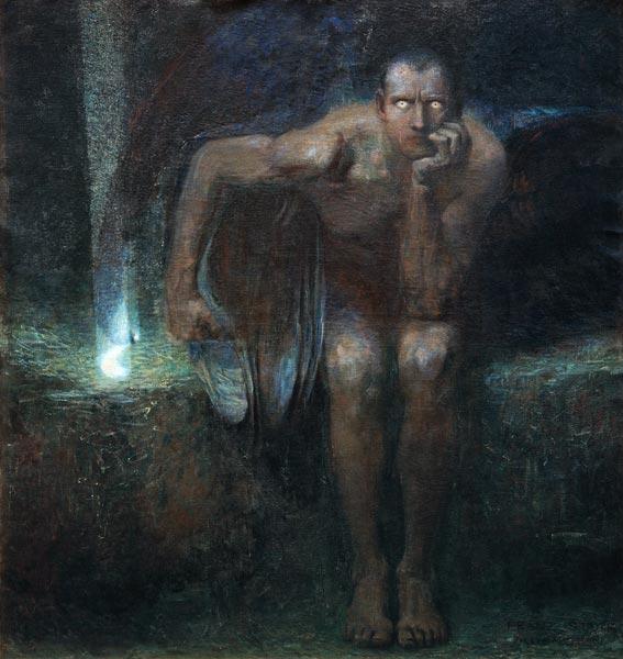 Franz Stuck, Lucifer, 1890.