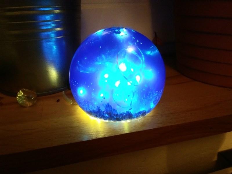 resin globe