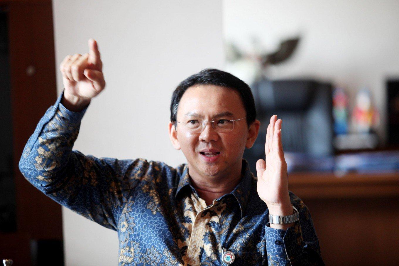 "Jakarta Governor Basuki ""Ahok"" Tjahaja Purnama. (JP/Dhoni Setiawan)"
