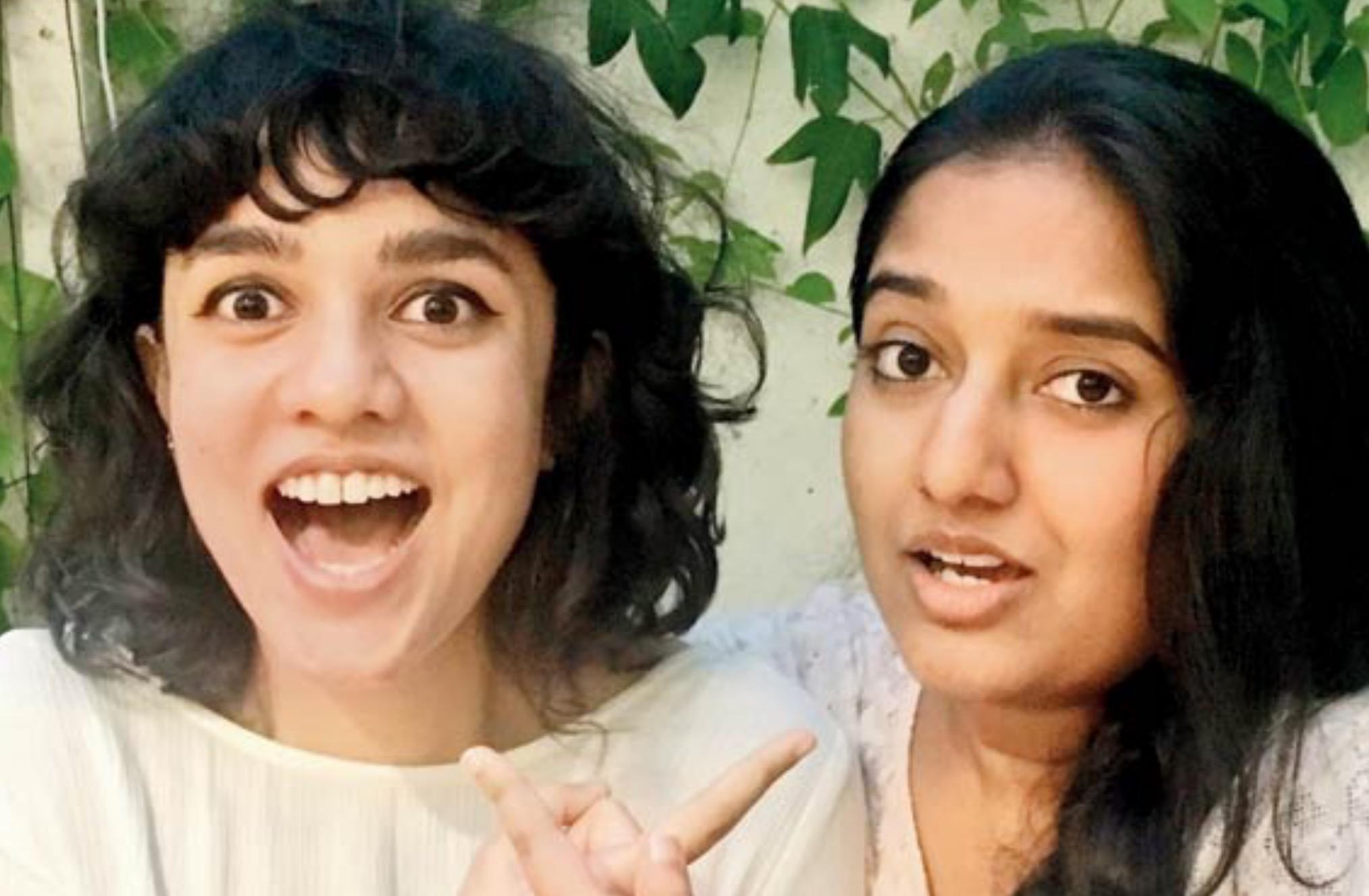 Pia and Malathi
